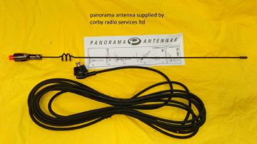 PANORAMA DUAL AMATEUR BAND BODY MOUNT ANTENNA  144/430 MHZ  COMPLETE WHIP